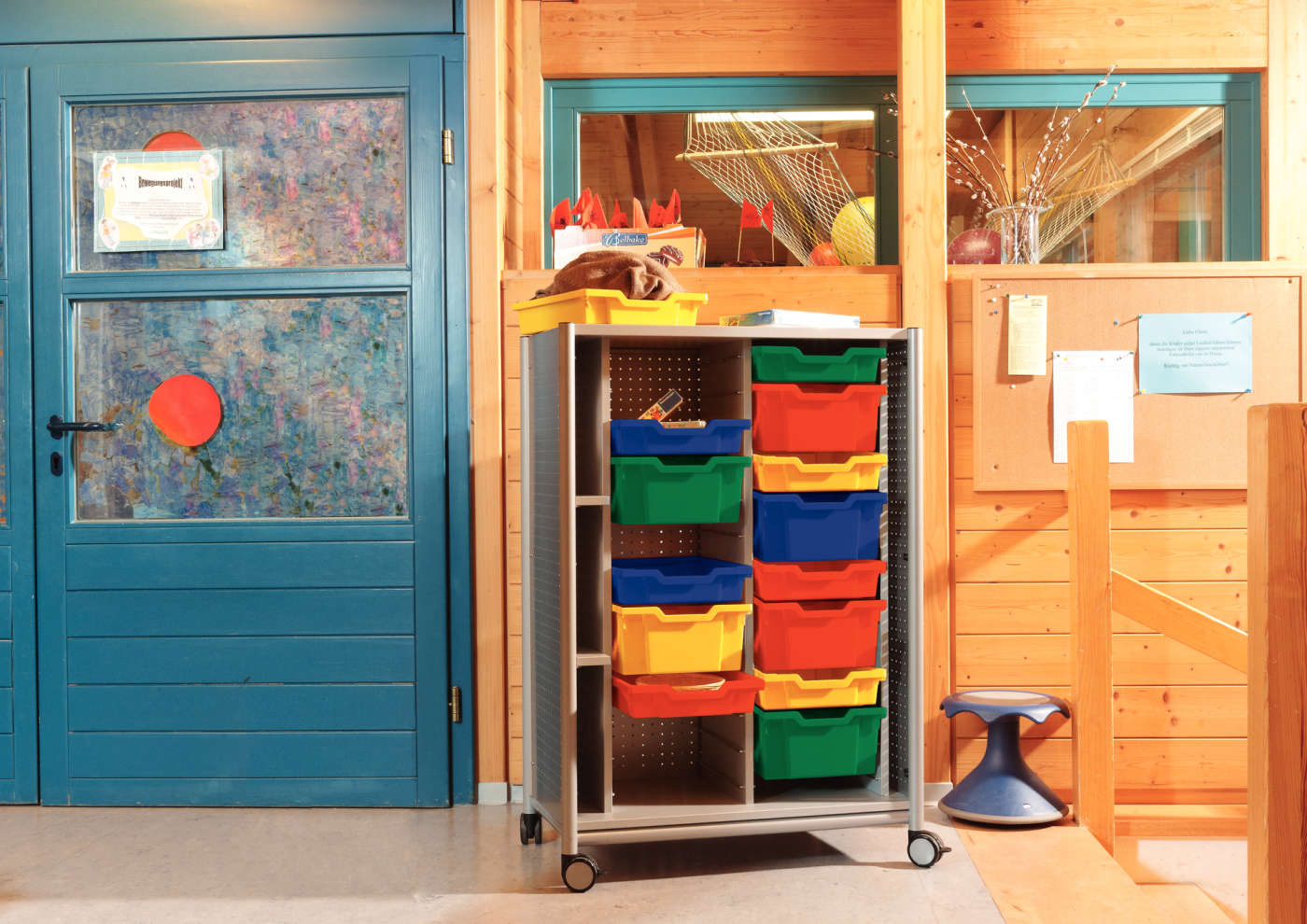 module furniture. Here Everything Goes In The Box: This Storage Module Creates Orderliness. Even All Those Little Bits That Are Part Of Different Play Activities Stowed Furniture