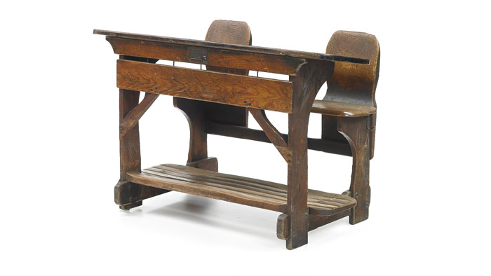 ... The Rettig Bench. The Heightened Footrest Made Getting Into And Out Of  The School Bench Much Simpler And Saved Space. P. Johannes Müller, One Of  VSu0027s ...